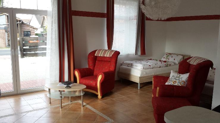 Remisen Studio mit Terrasse im Landhaus Diana